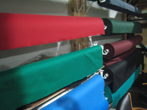 Chambersburg pool table recovering table cloth colors