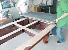 Pool table moves in Chambersburg Pennsylvania